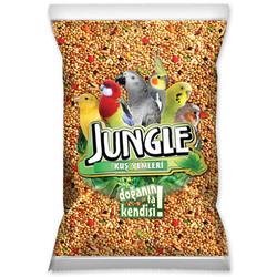 Jungle - Jungle Poşet Muhabbet Kuşu Yemi 1000 Gr
