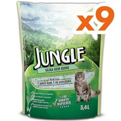 Jungle - Jungle Silica Tozsuz Doğal Kedi Kumu 3,4 Lt - 1 Koli (9 Adet)