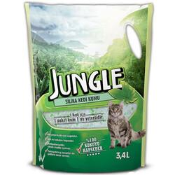 Jungle - Jungle Silica Tozsuz Doğal Kedi Kumu 3,4 Lt