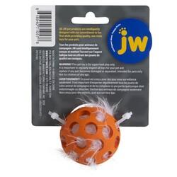 JW 0471057 Cataction Tüylü Kedi Oyun Topu - Thumbnail