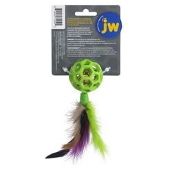 JW 0471059 Cataction Tüylü ve Zilli Kedi Oyun Topu - Thumbnail