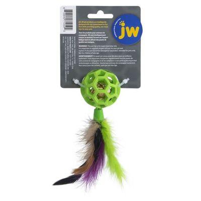 JW 0471059 Cataction Tüylü ve Zilli Kedi Oyun Topu
