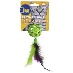 Jw - JW 0471059 Cataction Tüylü ve Zilli Kedi Oyun Topu