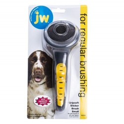 JW 65010 Gripsoft Slicker Brush Yumuşak Uçlu Tarak Small - Thumbnail