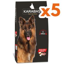 Karabaş - Karabaş Lamb Kuzu Etli Yetişkin Köpek Maması 15 Kgx5 Adet