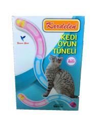 Diğer / Other - Kardelen Kedi Oyun Tüneli Kedi Oyuncağı İkili