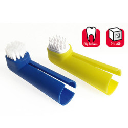 Karlie - Karlie 12083 Tootbrush 2'li Parmak Diş Fırçası + Diş Eti Masaj