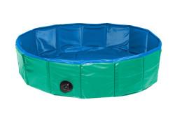 Karlie - Karlie 31556 Yeşil - Mavi Köpek Havuzu (Çap: 80 Cm)