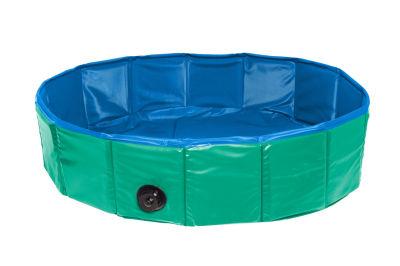 Karlie 31558 Yeşil - Mavi Köpek Havuzu (Çap: 160 Cm)