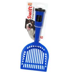 Karlie - Karlie 47938 Izgaralı Köpek Tuvalet Küreği + Dışkı Poşetli (Mavi)
