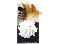 Eastland - Eastland 551149 Catnipli Tüylü Peluş Top Kedi Oyuncağı