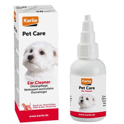 Karlie 510951 Kedi ve Köpek Kulak Temizleme Solüsyonu 50 ML