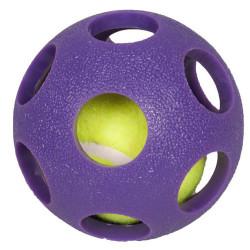 Karlie - Karlie 515409 Asteroid Ball Kauçuk Küçük Irk Köpek Oyuncağı 6 Cm