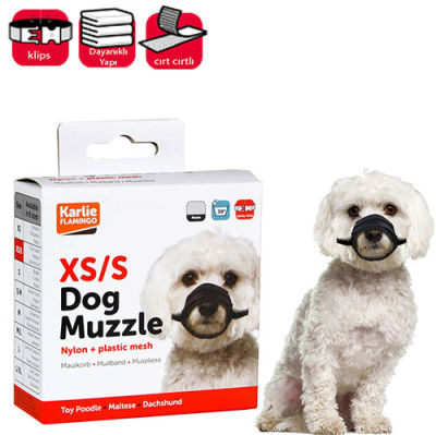 Karlie 53032 Dog Muzzle Soft Köpek Ağızlık XS/Small