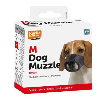 Karlie 502503 Dog Muzzle Soft Köpek Ağızlık Medium