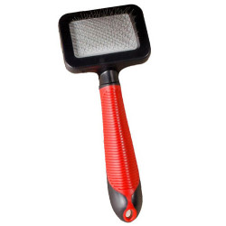 Karlie - Karlie 1030237 Kırmızı Saplı Tüy Temizleme Fırçası Small 17,5x7 Cm