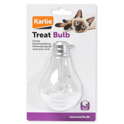 Karlie - Karlie 521613 Led Ambul Şekilli Ödül Hazneli Işıklı Kedi Oyuncağı 7x7x11 Cm