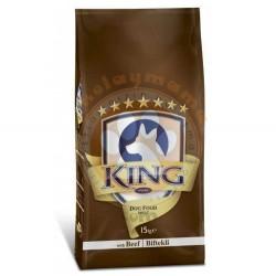 King - King Adult Biftekli Yetişkin Köpek Maması 15 Kg