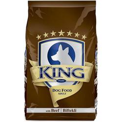 King - King Adult Biftekli Yetişkin Köpek Maması 3 Kg