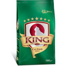 King - King Plus Fish Balıklı Yetişkin Kedi Maması 1,5 Kg
