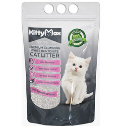 Kitty Max - Kitty Max Bebek Pudra Kokulu Topaklanan Kedi Kumu 5 Lt
