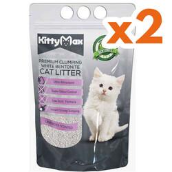Kitty Max - Kitty Max Lavanta Kokulu Topaklanan Kedi Kumu 10 Lt x 2 Adet