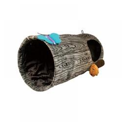 Kong - Kong Kedi Oyun Tüneli, Çap 24 cm, Uzunluk 45 cm