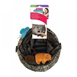 Kong Kedi Oyun Tüneli, Çap 24 cm, Uzunluk 45 cm - Thumbnail