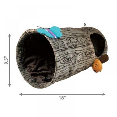 Kong Kedi Oyun Tüneli, Çap 24 cm, Uzunluk 45 cm
