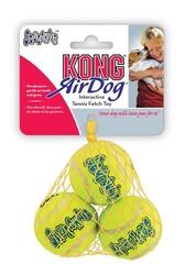Kong - Kong Köpek Air Sq Sesli Tenis Topu Small (3 Adet) 5 cm
