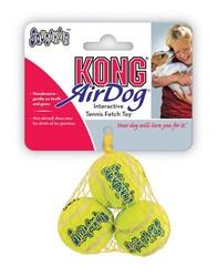 Kong - Kong Köpek Air Sq Sesli Tenis Topu XS (3 Adet) 4 cm