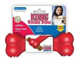 KONG - Kong Köpek Kırmızı Kauçuk Oyuncak Kemik M 18cm