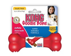 Kong - Kong Köpek Kırmızı Kauçuk Oyuncak Kemik Small 13,5 Cm