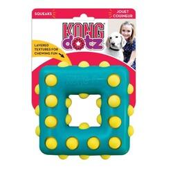 Kong - Kong Köpek Oyuncak, Dotz Kare, S 10 cm