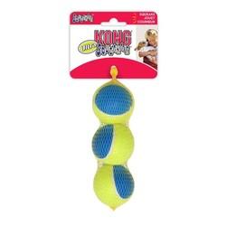 Kong - Kong Köpek Oyuncak Squekair Ultra Top (3 Adet) 6,5cm