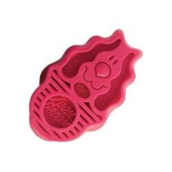 Kong - Kong Köpek Oyuncak, ZoomGroom Tarak, Pembe 11cm