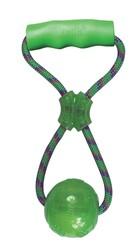 Kong - Kong Köpek Tutamaçlı Sesli Oyun Topu L - 32 cm