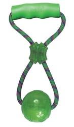 Kong - Kong Köpek Tutamaçlı Sesli Oyun Topu M 27cm