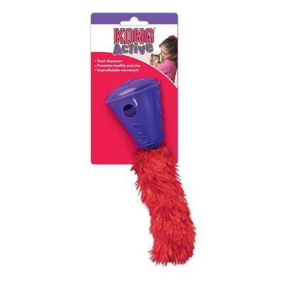 Kong Ödüllü Kedi Oyuncağı, Peluş Kuyruklu Koni 20 cm