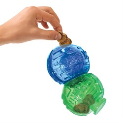 Kong - Kong Ödüllü Köpek Oyuncağı Çift Top Lock-It 14 Cm