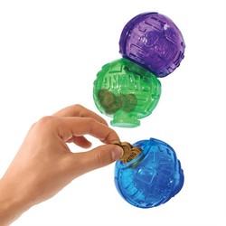 Kong - Kong Ödüllü Köpek Oyuncağı, Üç Top Lock-It 12cm