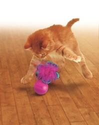 Kong Tüylü Kedi Oyun Topu 13,5 cm - Thumbnail