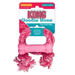 KONG - Kong Yavru Köpek İpli Diş Oyuncağı XS (Pembe&Mavi)