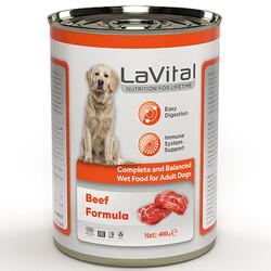 La Vital - La Vital Beef Tahılsız Biftek Etli Püre Köpek Konservesi 400 Gr