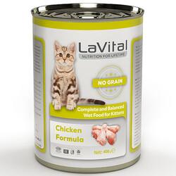 La Vital - La Vital Kitten Chicken Tahılsız Tavuk Etli Püre Yavru Kedi Konservesi 400 Gr