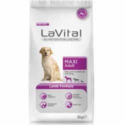 La Vital - La Vital Kuzu Etli Maxi Büyük Irk Köpek Maması 3 Kg