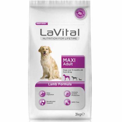 La Vital Kuzu Etli Maxi Büyük Irk Köpek Maması 3 Kg