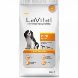 La Vital - La Vital Kuzu Etli Mini Yetişkin Köpek Maması 2 Kg