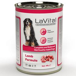 La Vital - La Vital Lamb Tahılsız Kuzu Etli Püre Köpek Konservesi 400 Gr