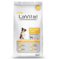 La Vital - La Vital Medium Yavru Orta Irk Somonlu Köpek Maması 3 Kg